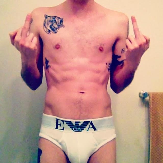 Daniel Pitout naked