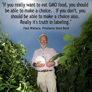 Say no to GMO, pesticides and chemicals in your food. Say yes to clean and healthy foods