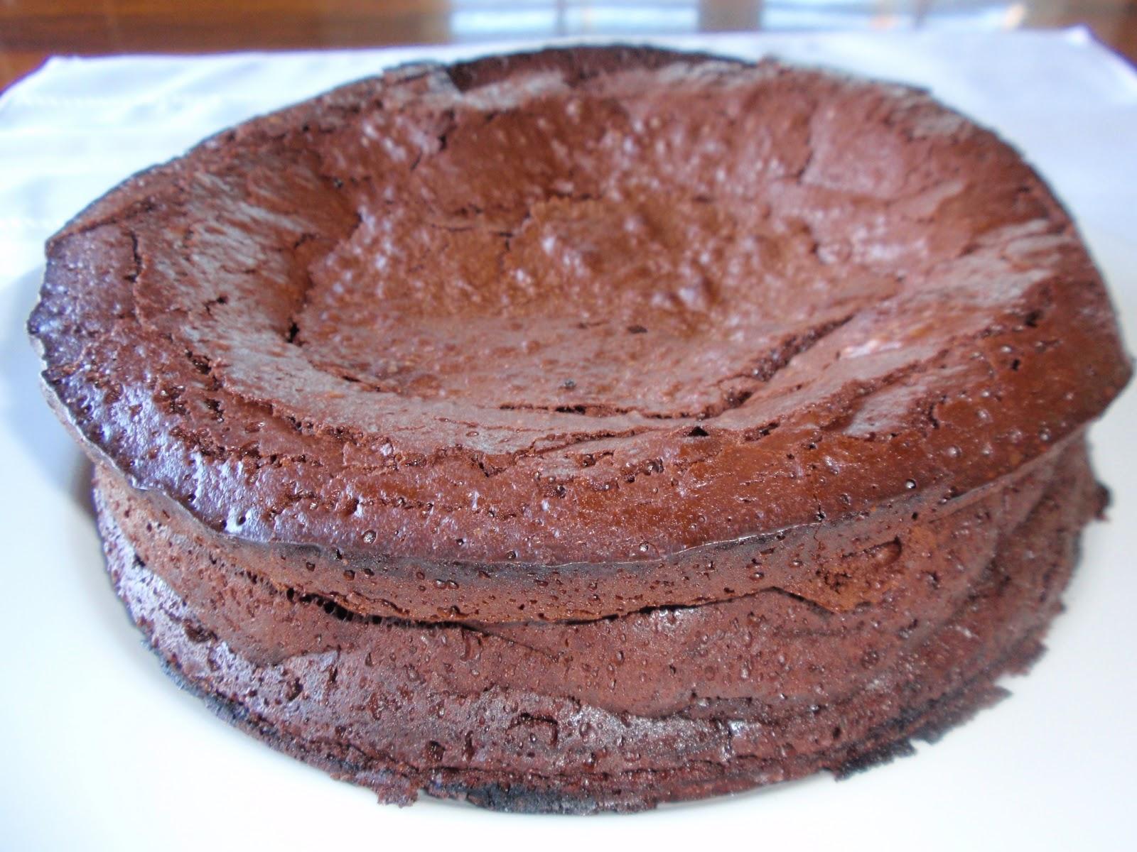 Bon Appetit An American Test Kitchen Test 26 Flourless Chocolate Cake With Caramel Or Raspberry Sauce