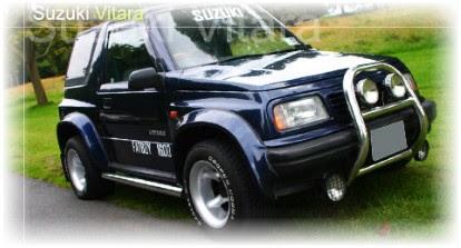 Owners Manual 1995 Suzuki Vitara  Suzuki Sidekick  Suzuki Escudo