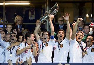 España se coronó Campeón de la Eurocopa Sub 21 2011