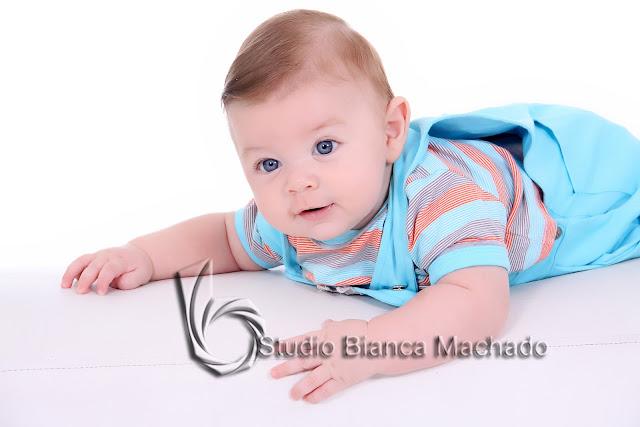 fotos em estudios com bebes