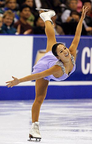 Field of Gol... Michelle Kwan Figure Skating