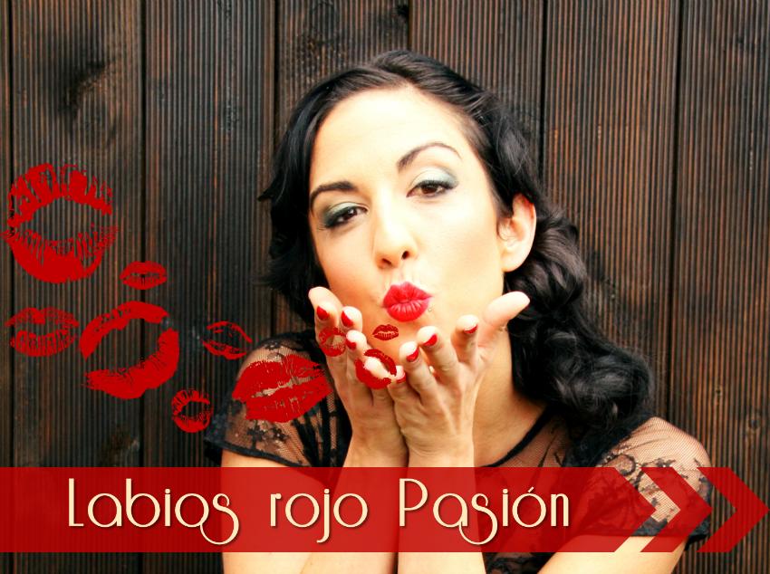 labios rojo pasion