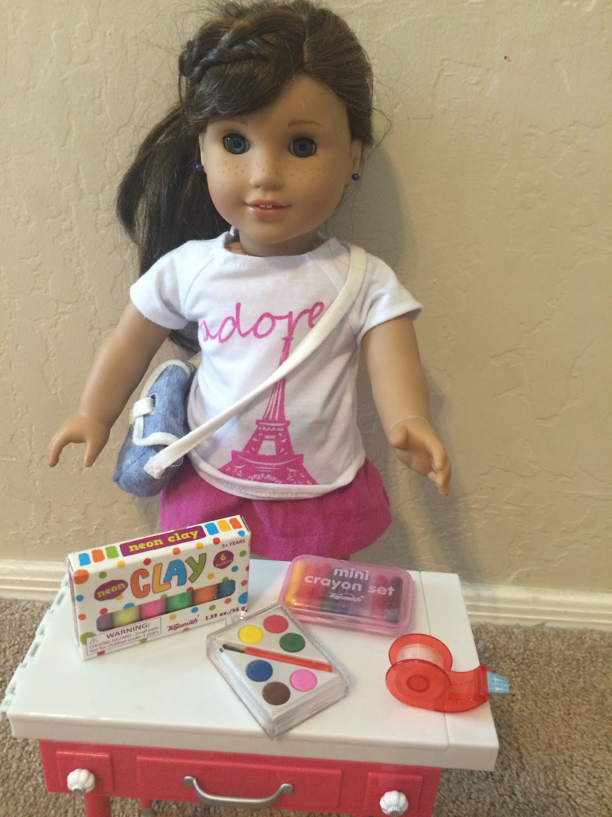 American Girls Help: A Group of Girls Selling AG Doll items to Raise funds for Refugees