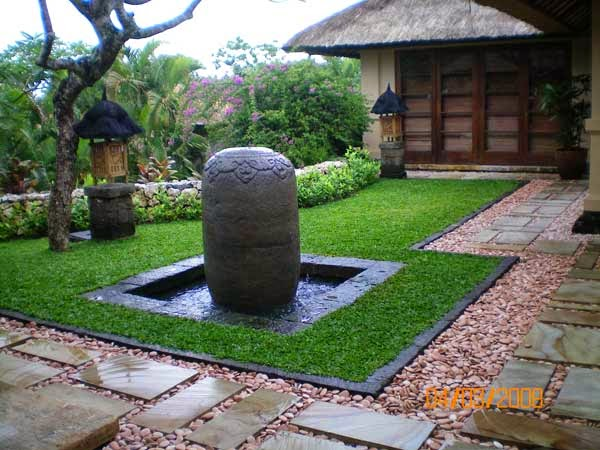 Contoh design taman rumah minimalis gaya jepang Sehat
