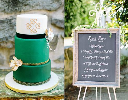 tarta boda verde esmeralda