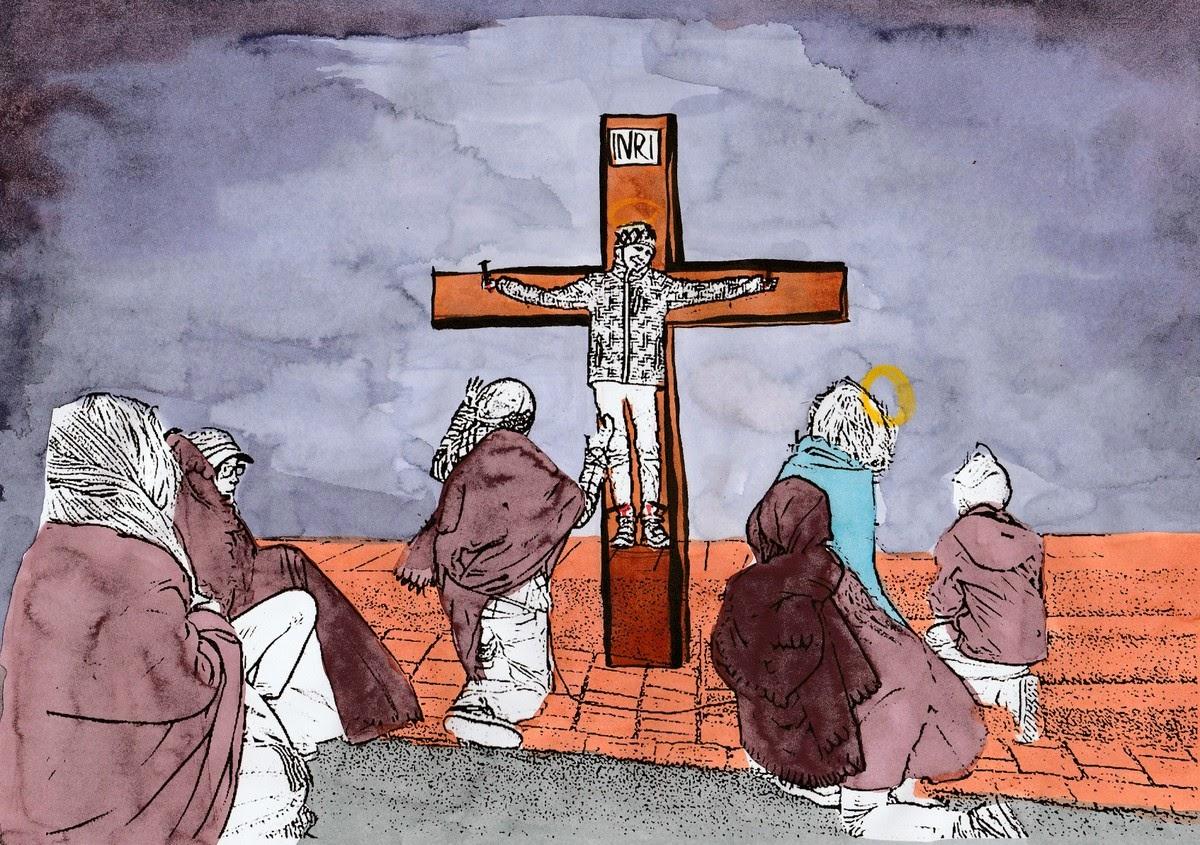 Fein Jesus Auf Dem Kreuz Malvorlagen Ideen - Malvorlagen Von Tieren ...