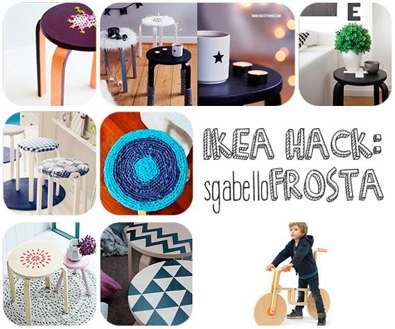 Ikea Hack sgabello Frosta