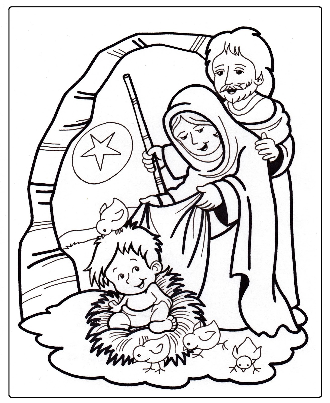 Image Result For Kids Joseph Coloring