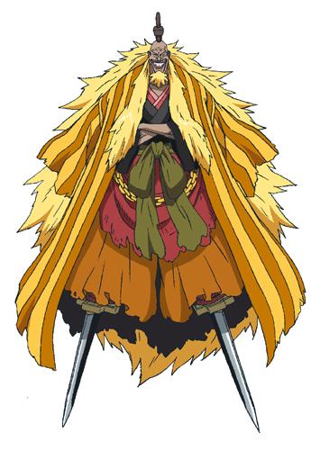 ชิกิ (Shiki)/ ราชสีทองคำชิกิ (Shiki the Golden Lion) @ One Piece