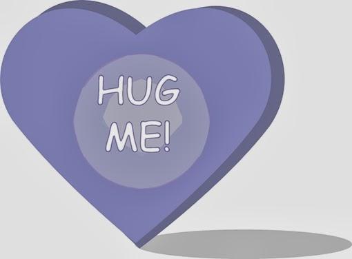 happy valentine hug me sms photo