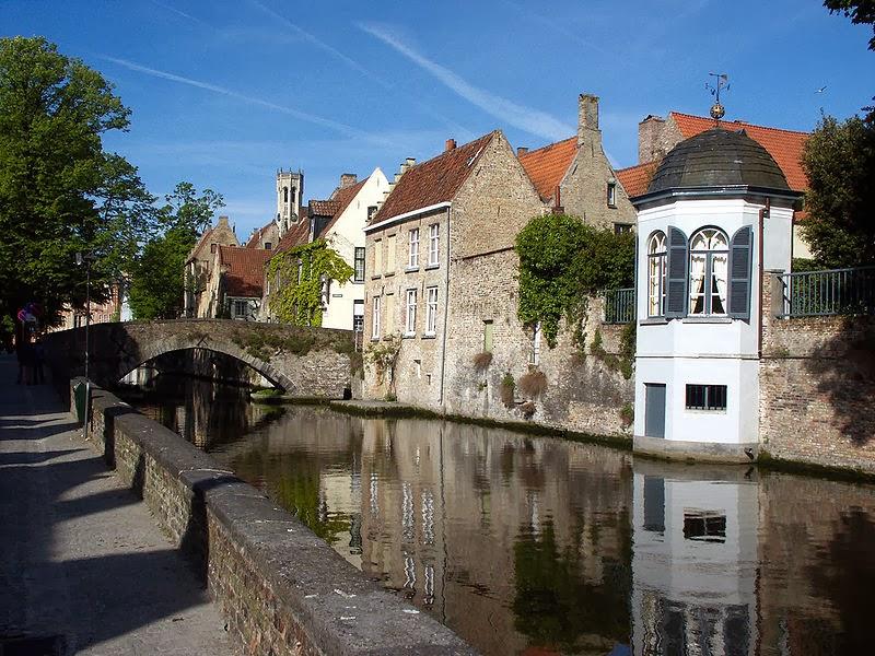 Canal din Bruges (Brugge)