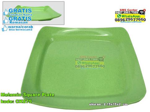 Melamin Square Plate