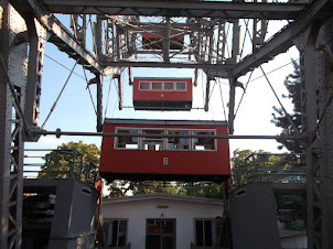 """The  frame structure and Gondola's of """"Vienna giant wheel"""" as in 1897 when first built."""