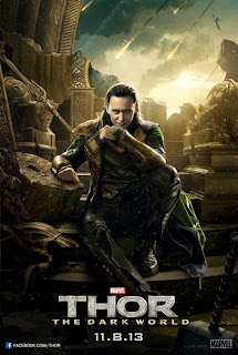 Thor the Dark World Tom Hiddleston Poster