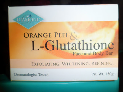 Orange Peel & L-Glutathione Face and Body Bar