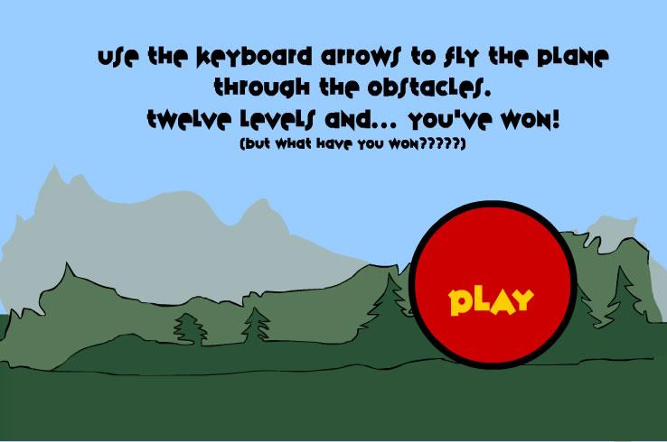 Kids Game : Plane Zit Bag
