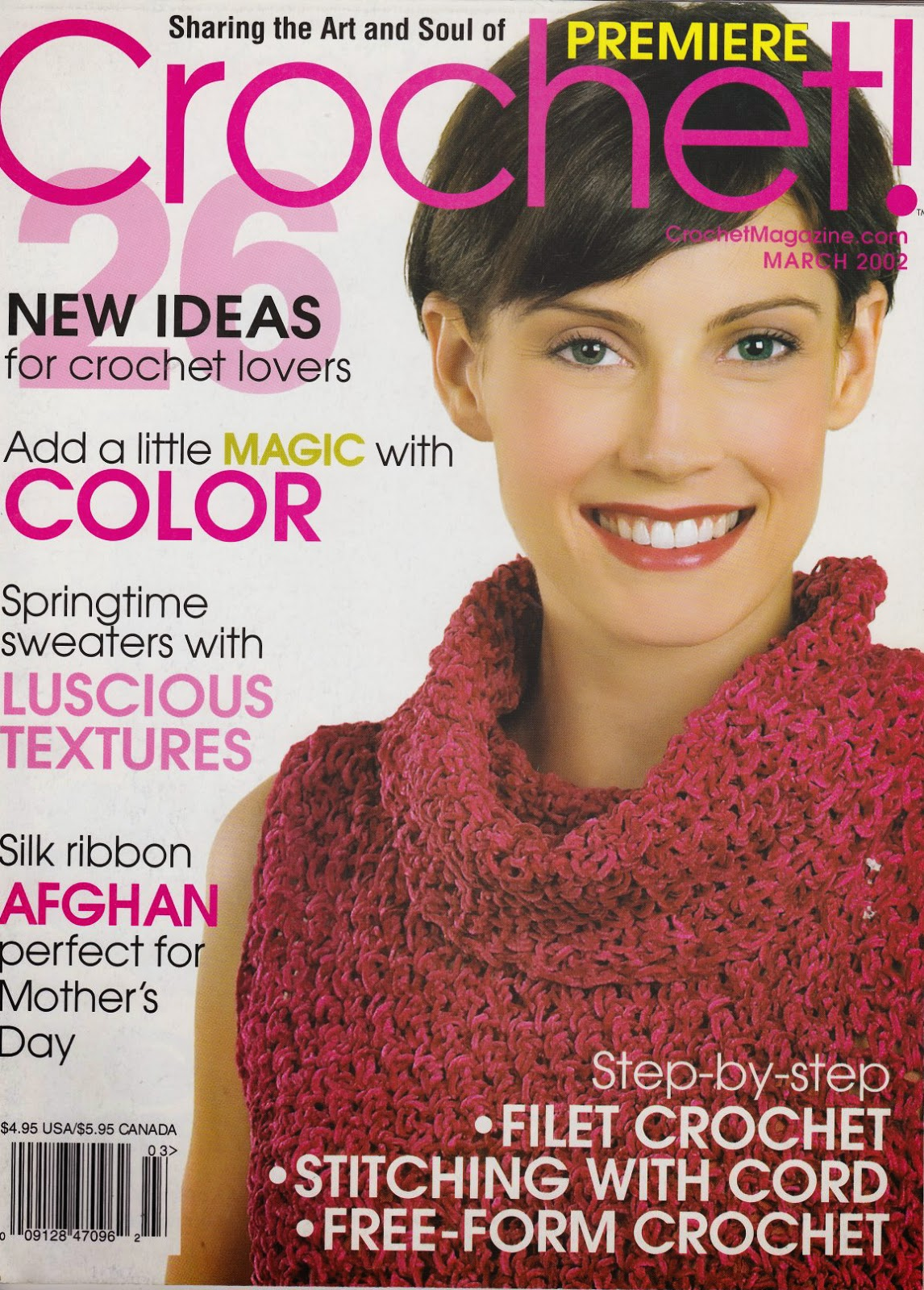 crochet a magazine that brought new ideas for crochet lovers