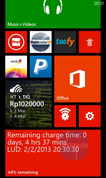 "Battery+"" - a Simple & Unique Battery Status App for Nokia Lumia ..."