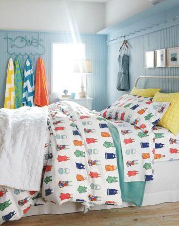 Amazing Vintage Swimsuit Percale Bedding