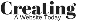 Creating A Website Today