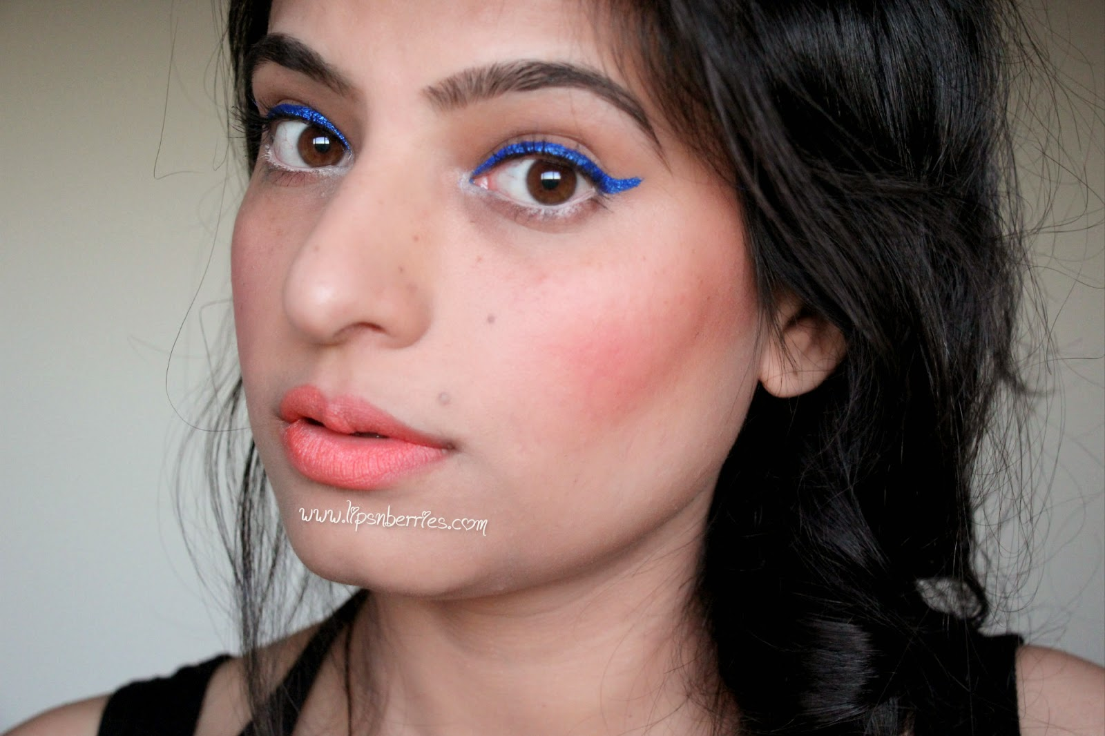 NYX Lipliner review - Coral