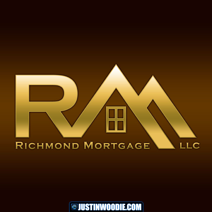 Richmond Mortgage LLC Graphic Logo Design