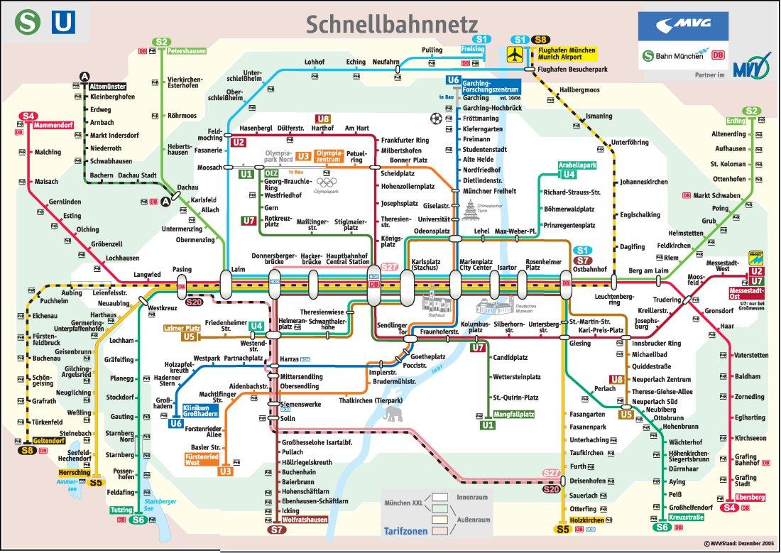 munich tourist map pdf english