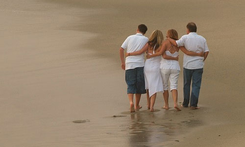 How To Make My Parents Proud Of Me ,happy family on the beach walking