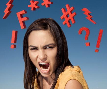 كيف تجنن زوجتك  - امرأة فتاة مجنونة غاضبة - crazy angry woman