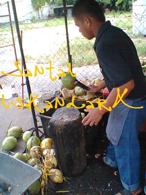 santai, Santai iskandarX, Air kelapa, Pekan, Town, Kongsi, Balik Pulau
