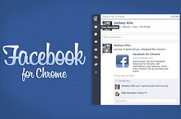 10 Great Google Chrome Facebook Extentions
