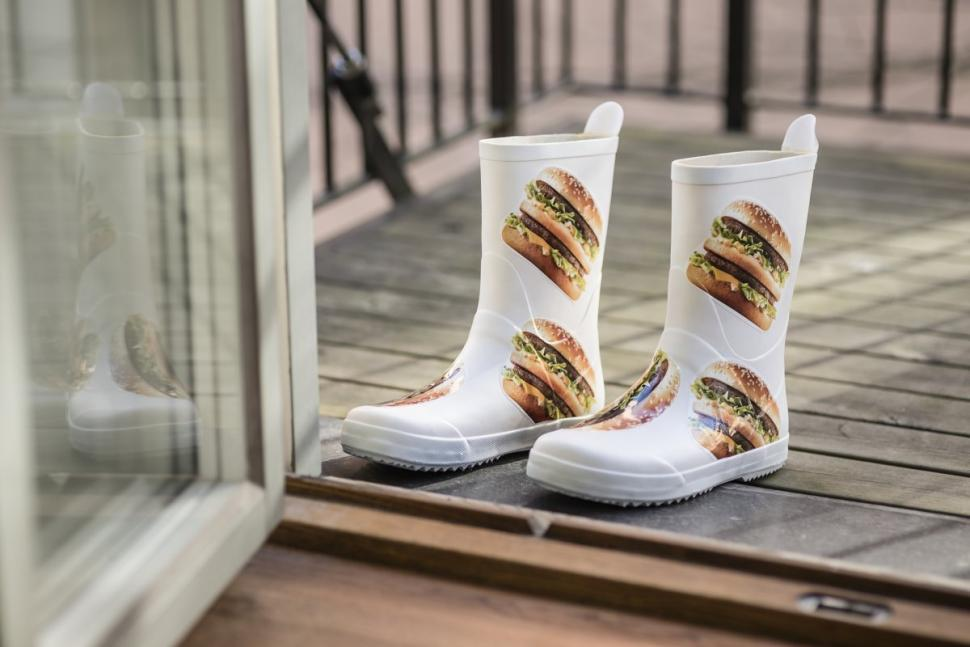 mcdonalds big mac wellies