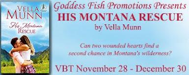 His Montana Rescue by Vella Munn