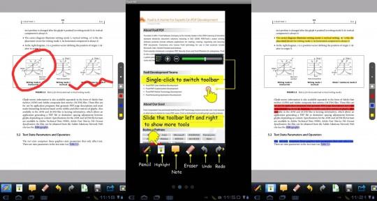 pdf reader for samsung mobile