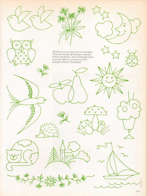 Joey 39 s dream garden golden hands encyclopedia of crafts for Garden embroidery designs free