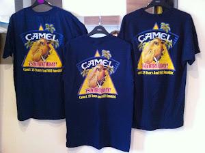 Beli 3 helai camel t-shirt save RM202
