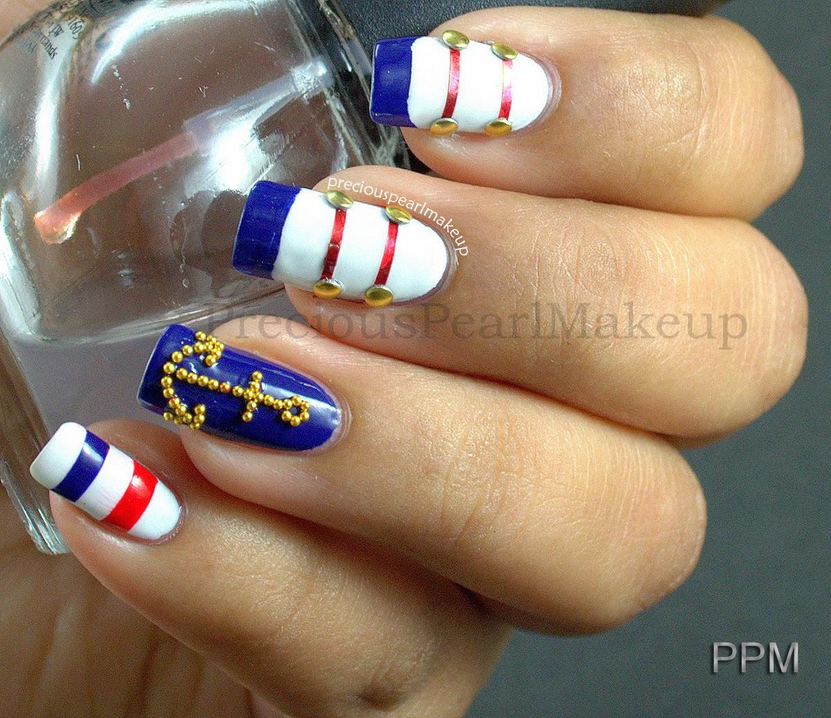 preciouspearlmakeup: Get Nautical!