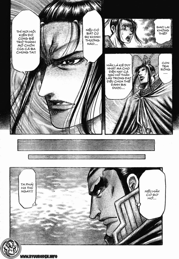 Chú Bé Rồng - Ryuuroden chap 173 - Trang 12
