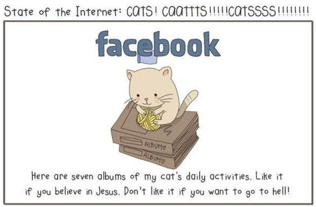 kartun-kucing-facebook