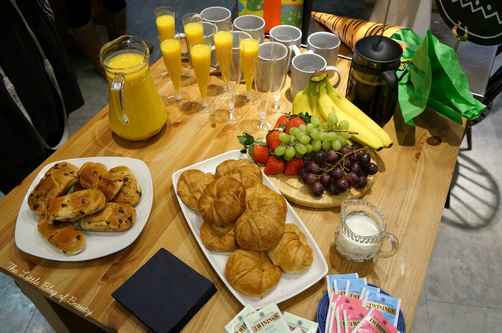 Lush Meadowhall Bloggers Breakfast