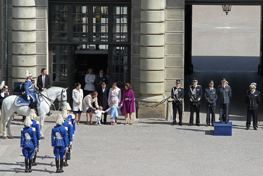 Crown Princess Victoria, Prince Carl Philip and Princess Madeleine.