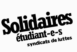 Solidaires Etudiant-e-s