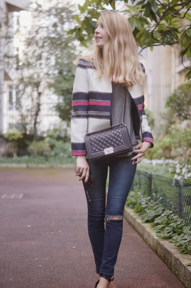 Zara, frame denim, chanel, chloé, look of the day, outfit, streetstyle, fashion blogger, paris