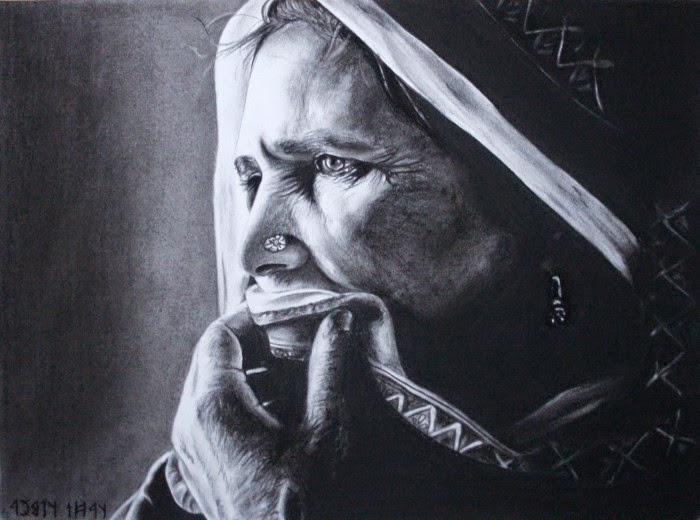 Рисунки карандашом. Timea Tacsi
