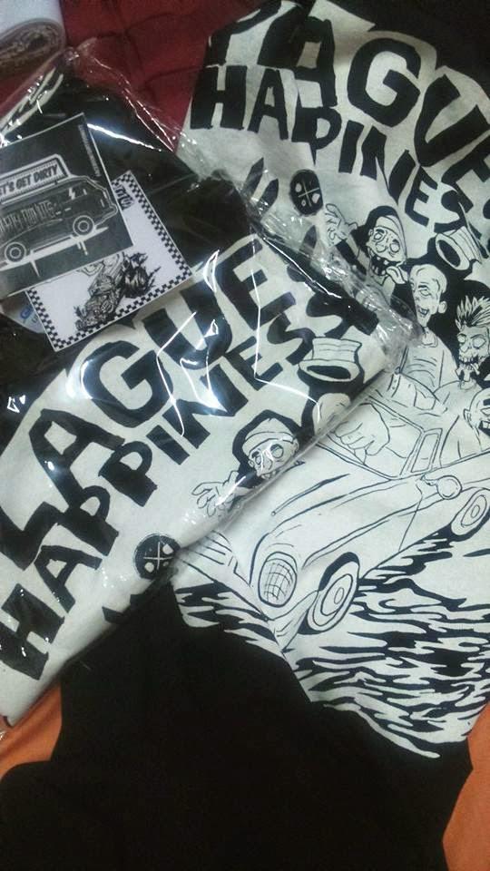 T-shirt Dirtydonuts x Plague Of Happiness sudah di re-stock & Terima kasih Femi Mensoor