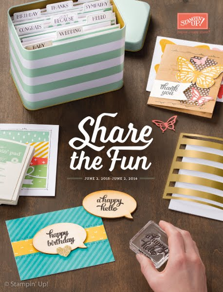 View the 2015-2016 Stampin' Up!®  Catalogue online