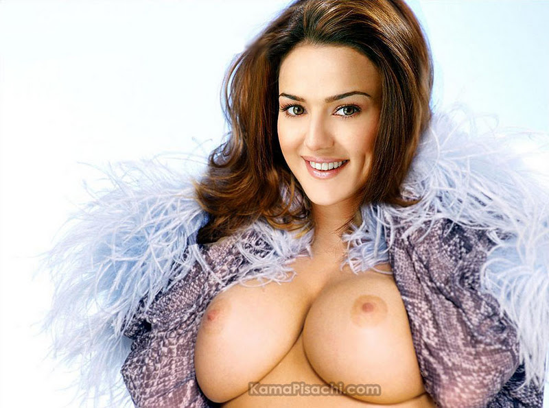 Preity Zinta Totally Nude And Naked Fake