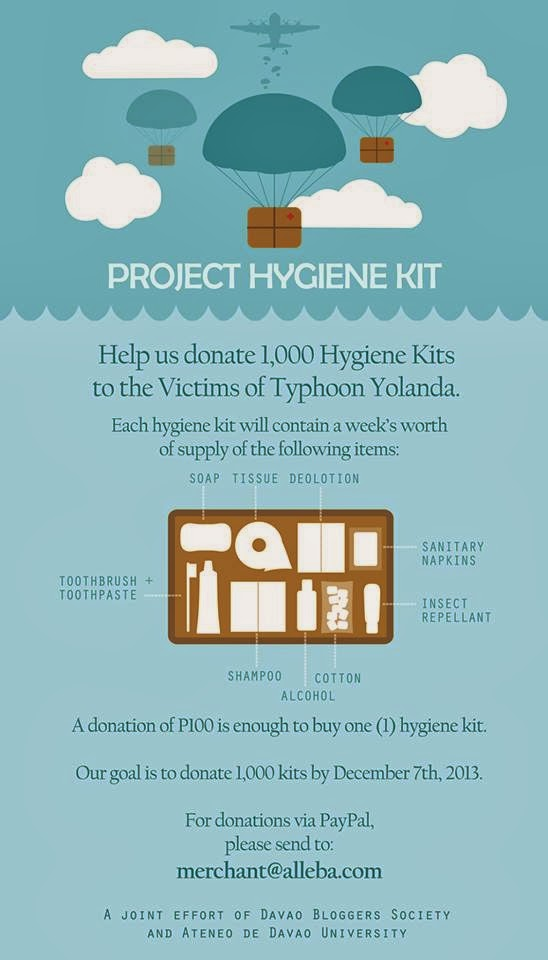 PROJECT HYGIENE KIT: YOUR P100 WILL GO A LONG WAY